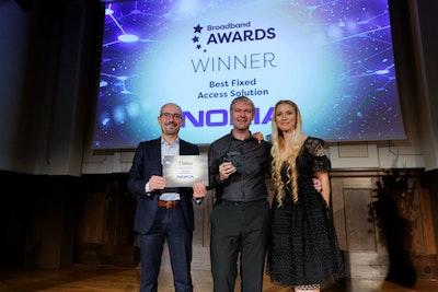 Best Fixed Access Solution - WINNER: Nokia