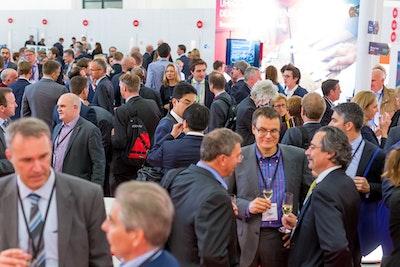 BIO-Europe - informal networking in exhibit