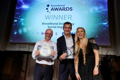Broadband Delivering Social Impact - WINNER: Chorus New Zealand and Nokia