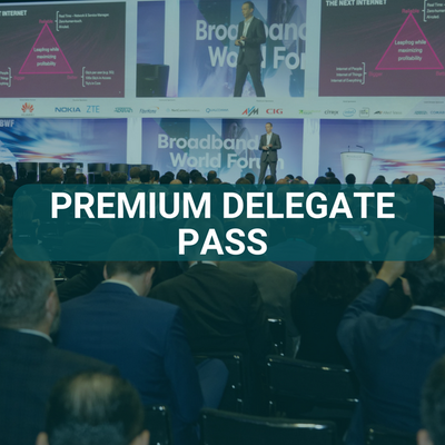 Broadband World Forum Premium Delegate Pass