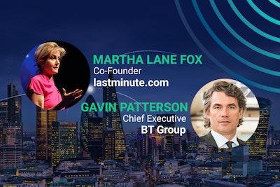 headliner speakers, Martha Lane Fox, Gavin PAtterson, BT Group, lastminute.com