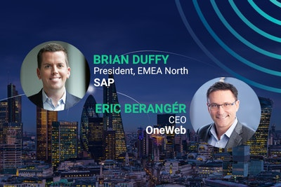 headliner speakers brian duffy, eric beranger, OneWeb, SAP