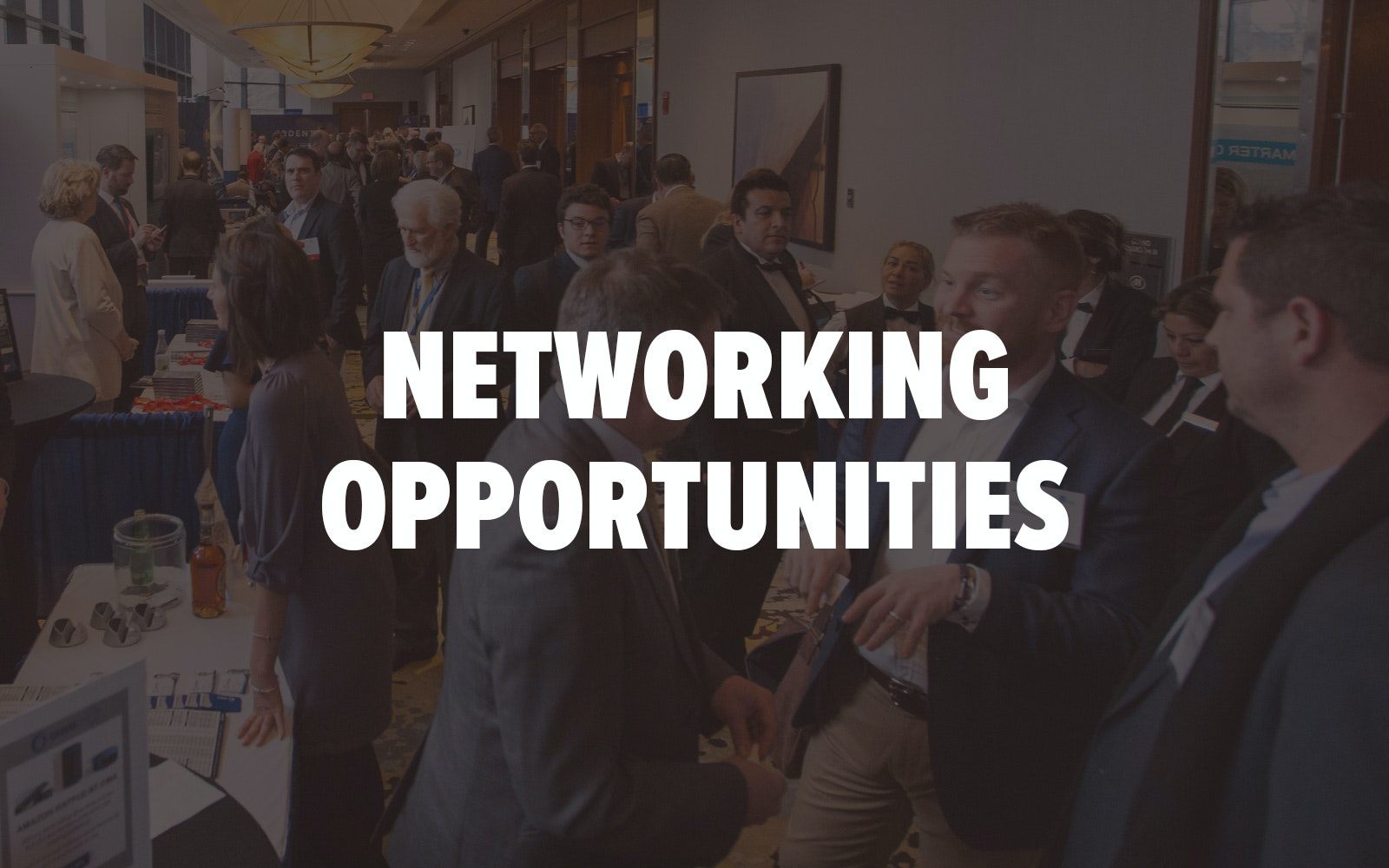 CMA Shipping 2020 Networking Opportunities