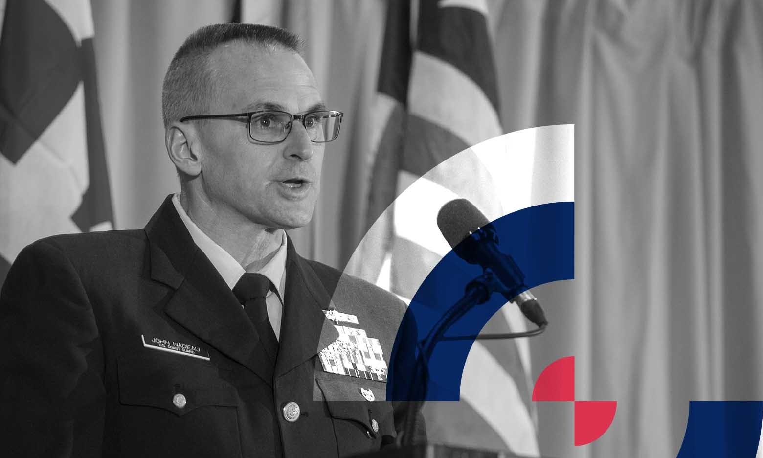 CMA Shipping US Coast Guard  Presenting