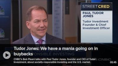 Paul Tudor Jones on buyback mania