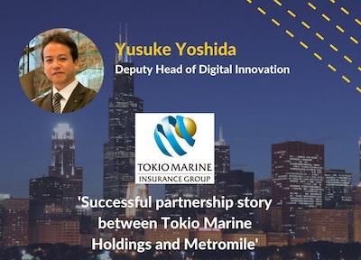 Yusuke Yoshida Tokio Marine Holdings | Connected Car Insurance USA Speaker
