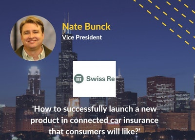 Nate Bunck Swiss Re | Connected Car Insurance USA Speaker