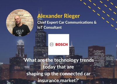 Alexander Rieger Bosch | Connected Car Insurance USA Speaker