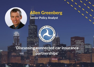 Allen Greenberg US DoT | Connected Car Insurance USA Speaker