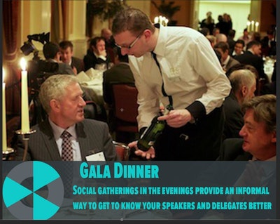 Decommissioning and radwaste summer schools gala dinner