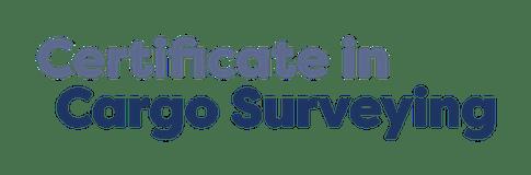 Certificate in Cargo Surveying