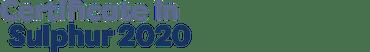 Certificate in Sulphur 2020