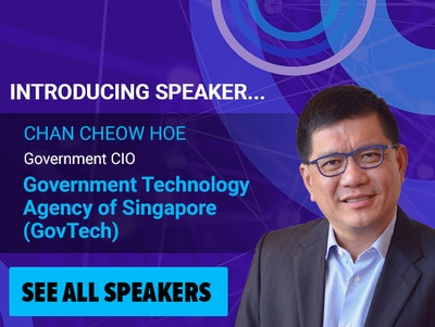 Chan Cheow Hoe, Government CIO, GovTech