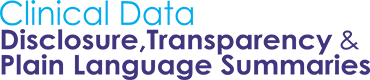 Clinical Data Disclosure, Transparency & Plain Language Summaries