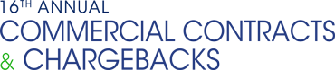 16th Annual Commercial Contracts & Chargebacks