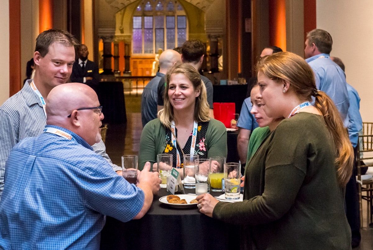 Networking at Channel Partners Evolution 2019