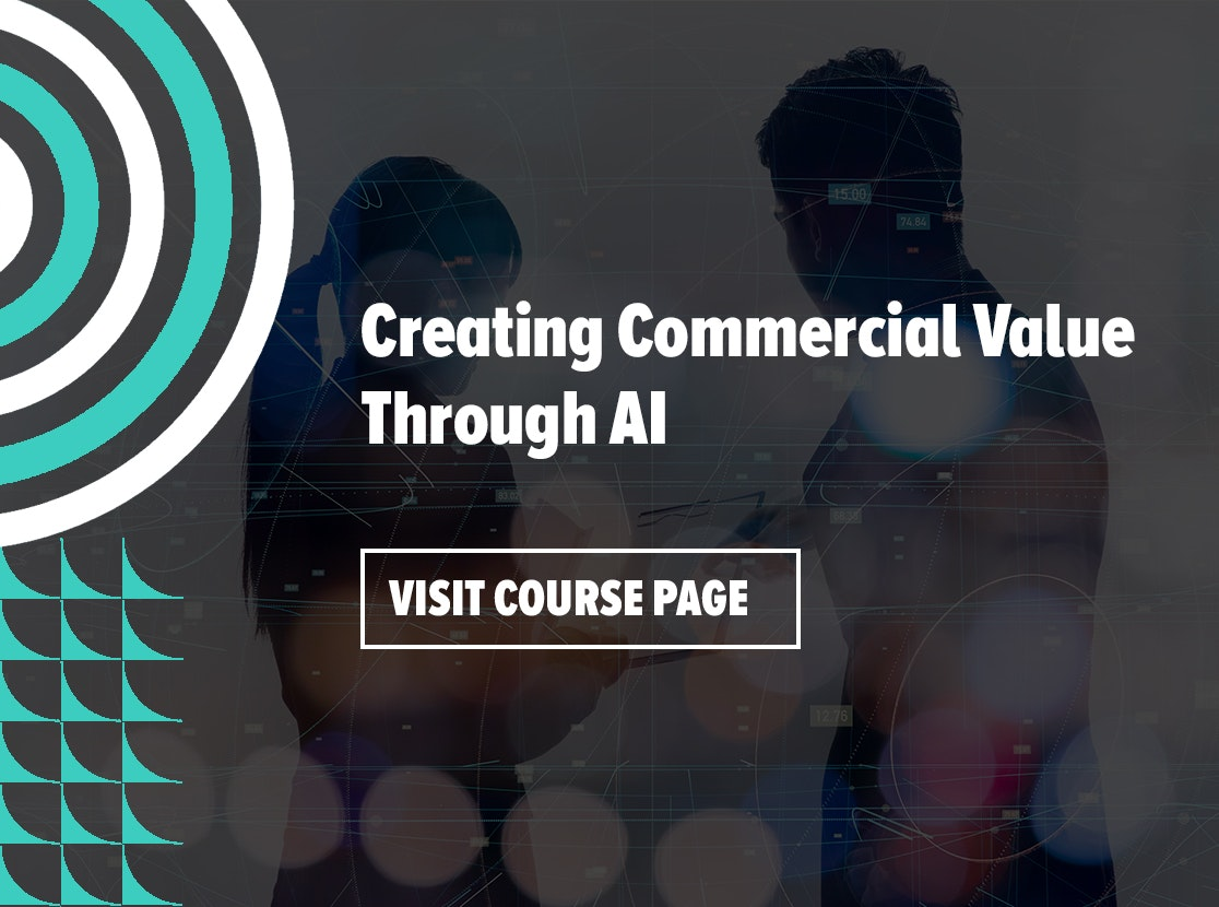Creating Commercial Value Through AI
