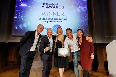 Customer Choice Award – Operator only - WINNER: Hyperoptic