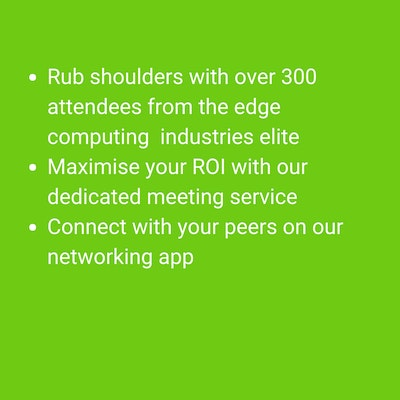 discover whats on offer at edge computing congress