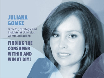 Juliana Gomez at the DIY Market Research