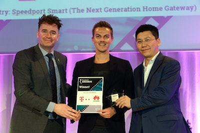 Best Smart Home Network. WINNER: Deutsche Telekom & Huawei