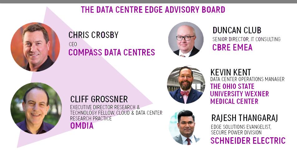 The Data Centre Edge Advisory Board, Compass Data Centres, Omdia, Schneider Electric, CBRE EMEA, The Ohio State University Wexner Medical Center