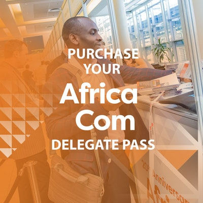 Purchase your AfricaCom 2018 Delegate Pass
