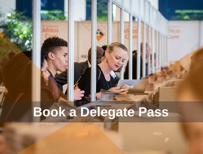 An all-access delegate at Africacom