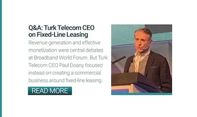 Turk Telekom CEO Paul Doany