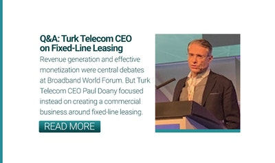Turk Telekom CEO Paul Doany