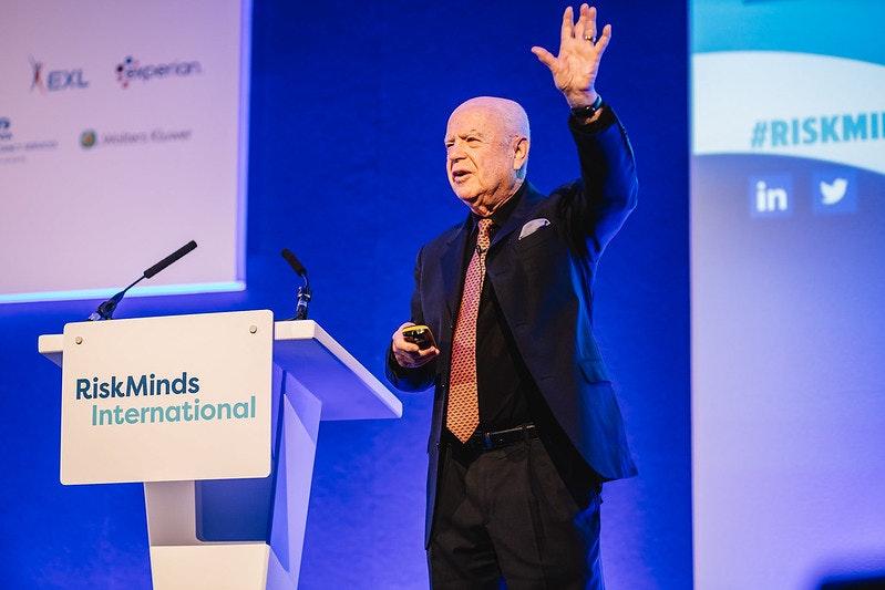 Ed Altman at RiskMinds International