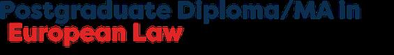 PGDip European Union Law