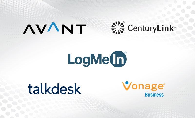 AVANT, CenturyLink, LogMeIn, Talkdesk, Vonage Business