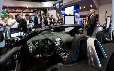 Connected & Autonomous Vehicles - Expo Hall Bosch Connected Car