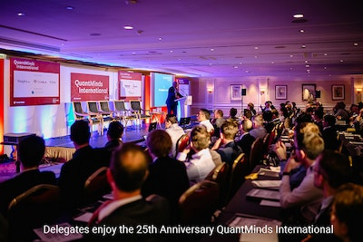 QuantMinds International - 25 years celebrating quant minds