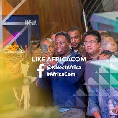 Like AfricaCom on Facebook at @KNectAfrica and #AfricaCom