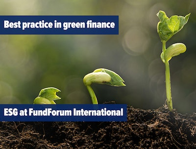 Best practice in green finance - ESG at FundForum International