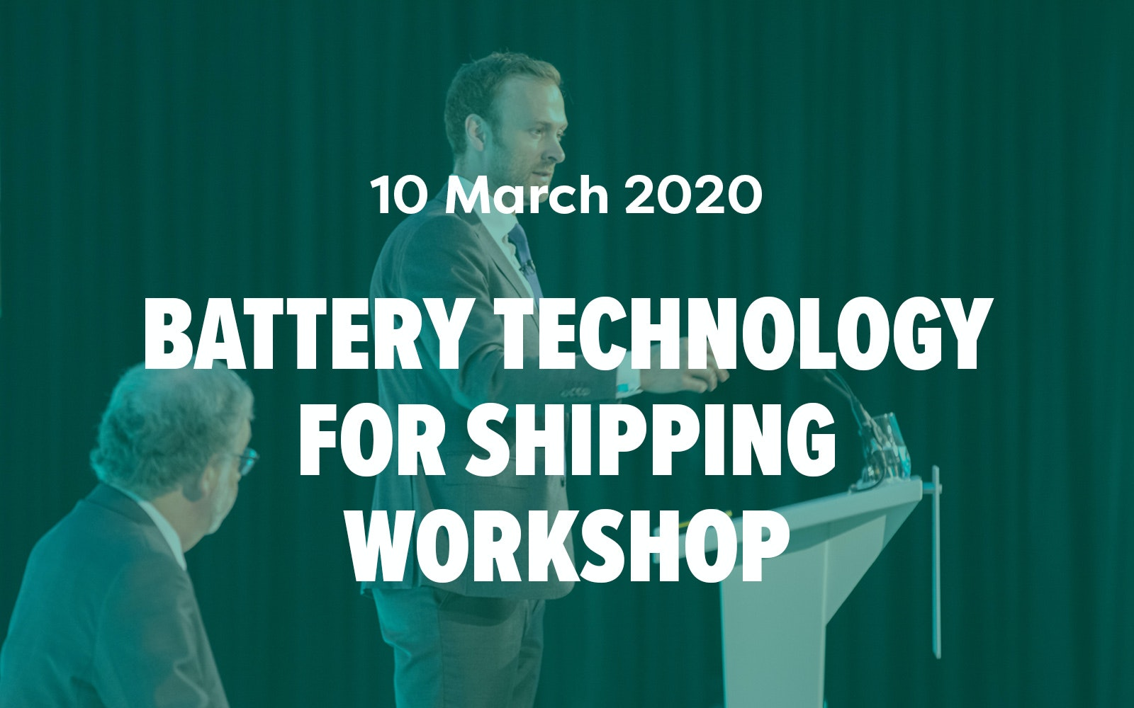 Battery Technology for Shipping Workshop
