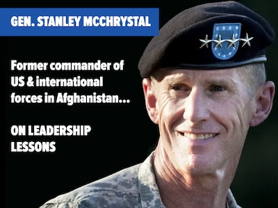 General Stanley McChrystal - Speaker at Inside ETFs