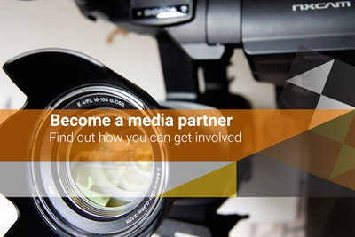 Become a media partner - find out how  you can get involved