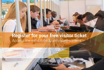 Register for your free visitor ticket - access the exhibition & unrivalled content