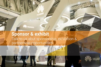 Sponsor and exhibit - talk to us about sponsorship, exhibition and partnership opportunities