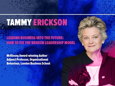 Tammy Erickson. Leading business in future. Keynote at HRSE 2018. HR Summit and Expo 2018.