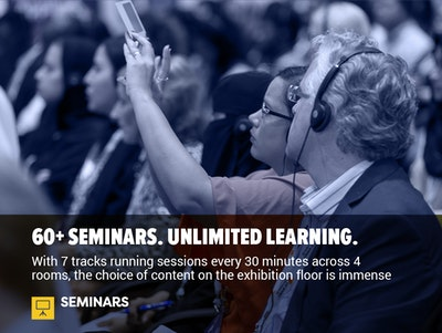 60+ Seminars. Unlimited Learning