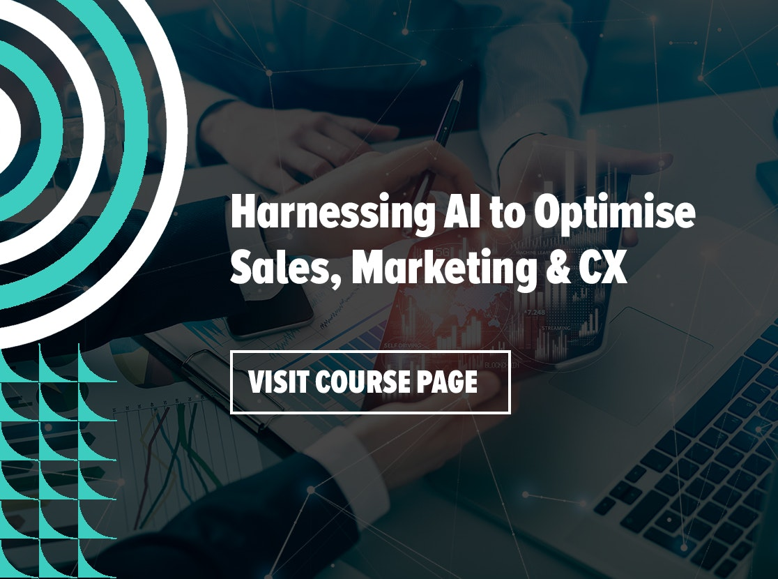 Harnessing AI to Optimise Sales, Marketing & CX