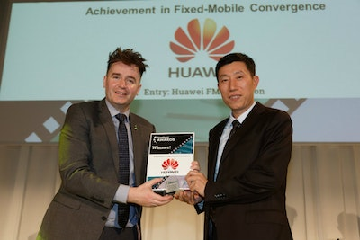 Achievement in Fixed-Mobile Convergence. WINNER: Huawei