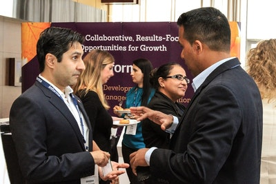 Networking at the Compensation and Benefits Forum 2017