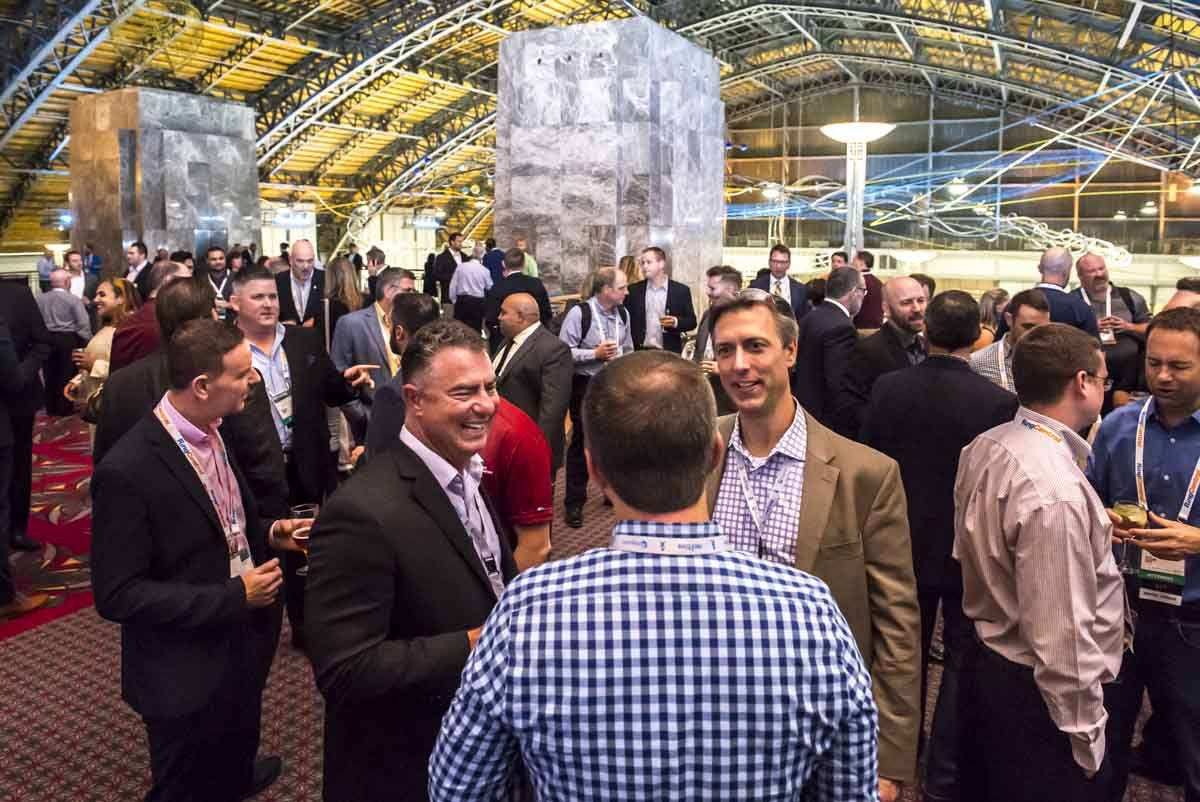 Networking at MSP 501 Awards Dinner