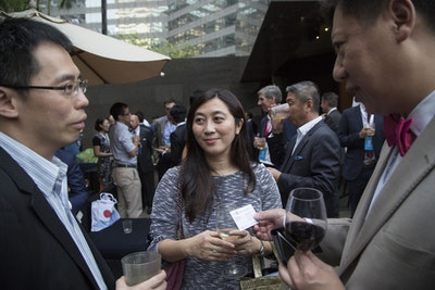Inside ETFs Asia evening networking drinks reception