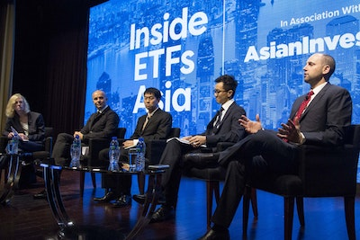 Panel session at Inside ETFs Asia